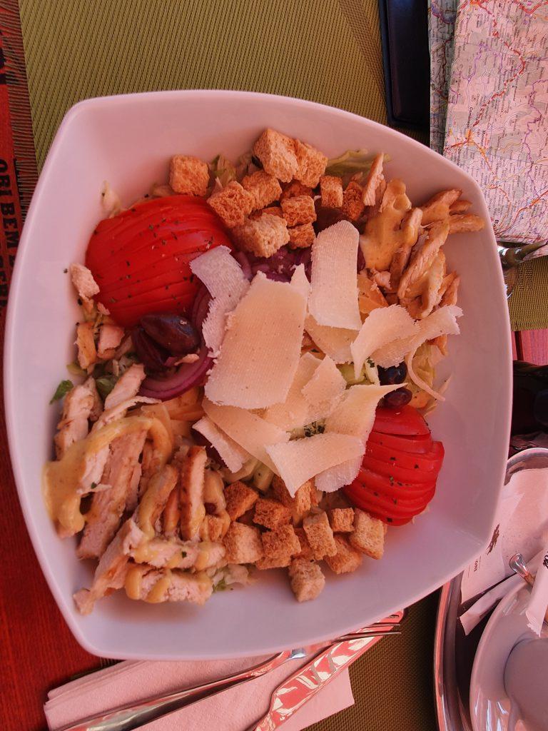 Einer der wenigen guten Salate