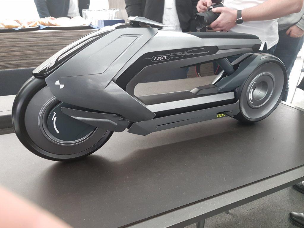 Designstudie auf der Motorräder Dortmund 2019