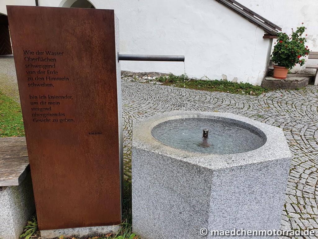 Innenhof von Mariastein