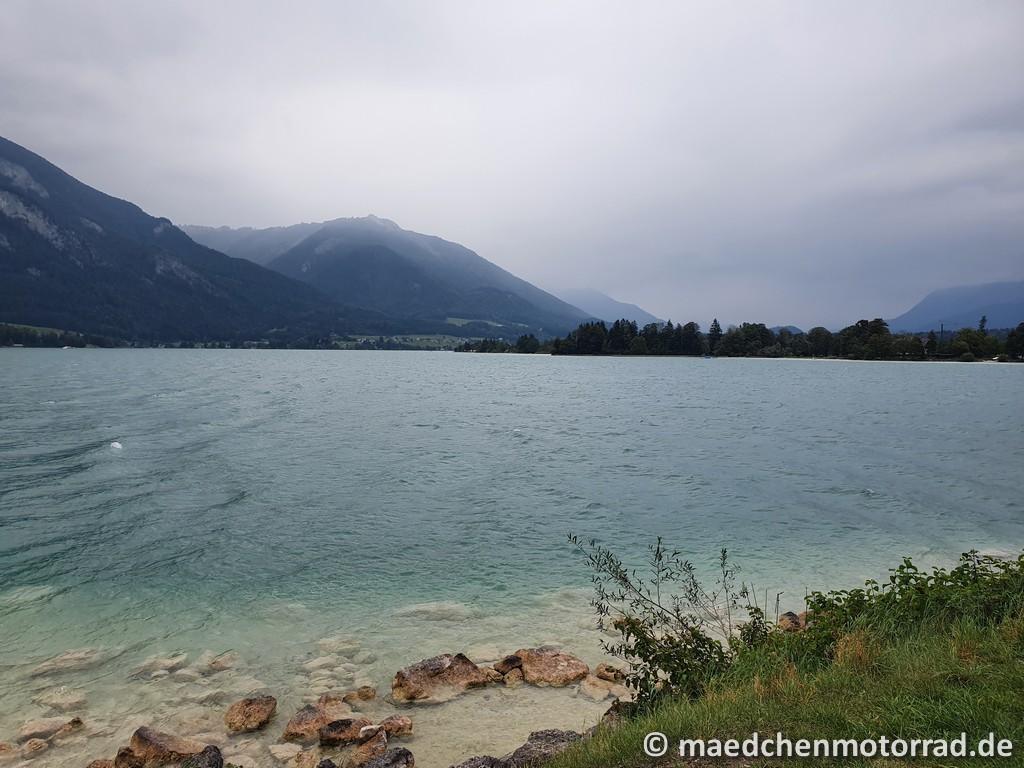 Blick vom Ufer nach rechts