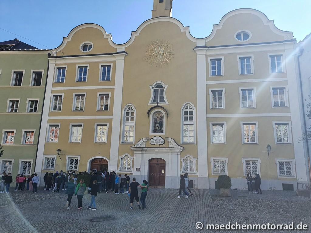 In der Altstadt von Burghausen