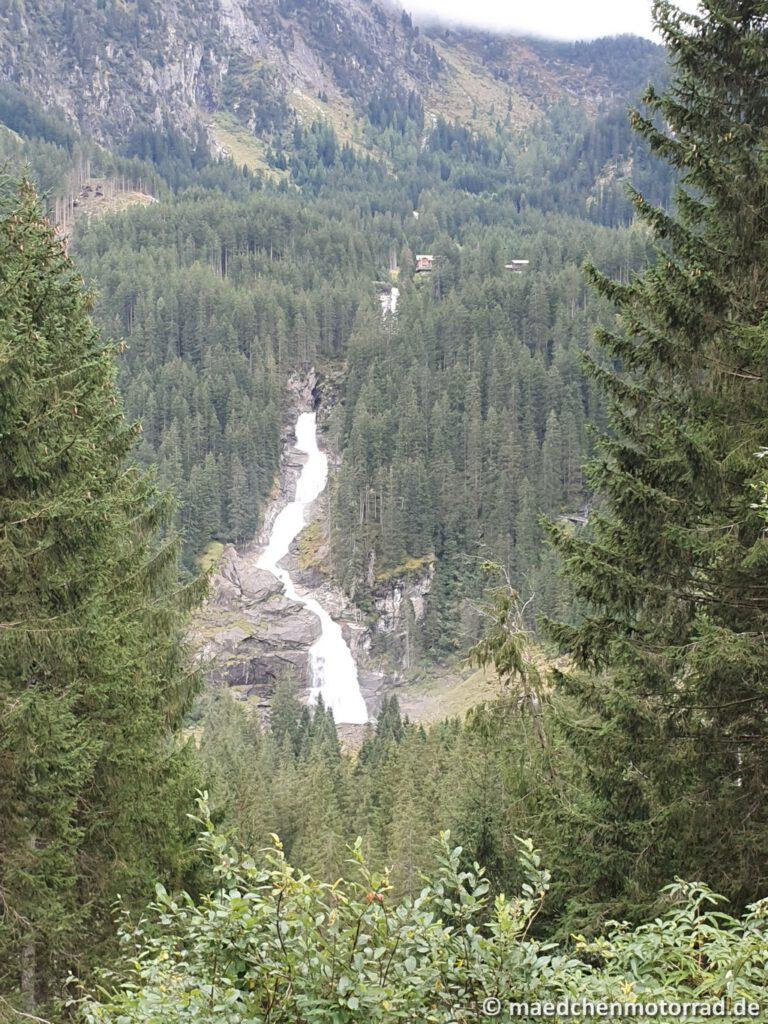 Krimmler Wasserfälle im Hintergrund
