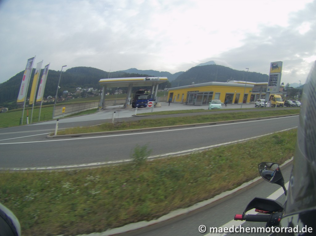 Tankstelle in Golling