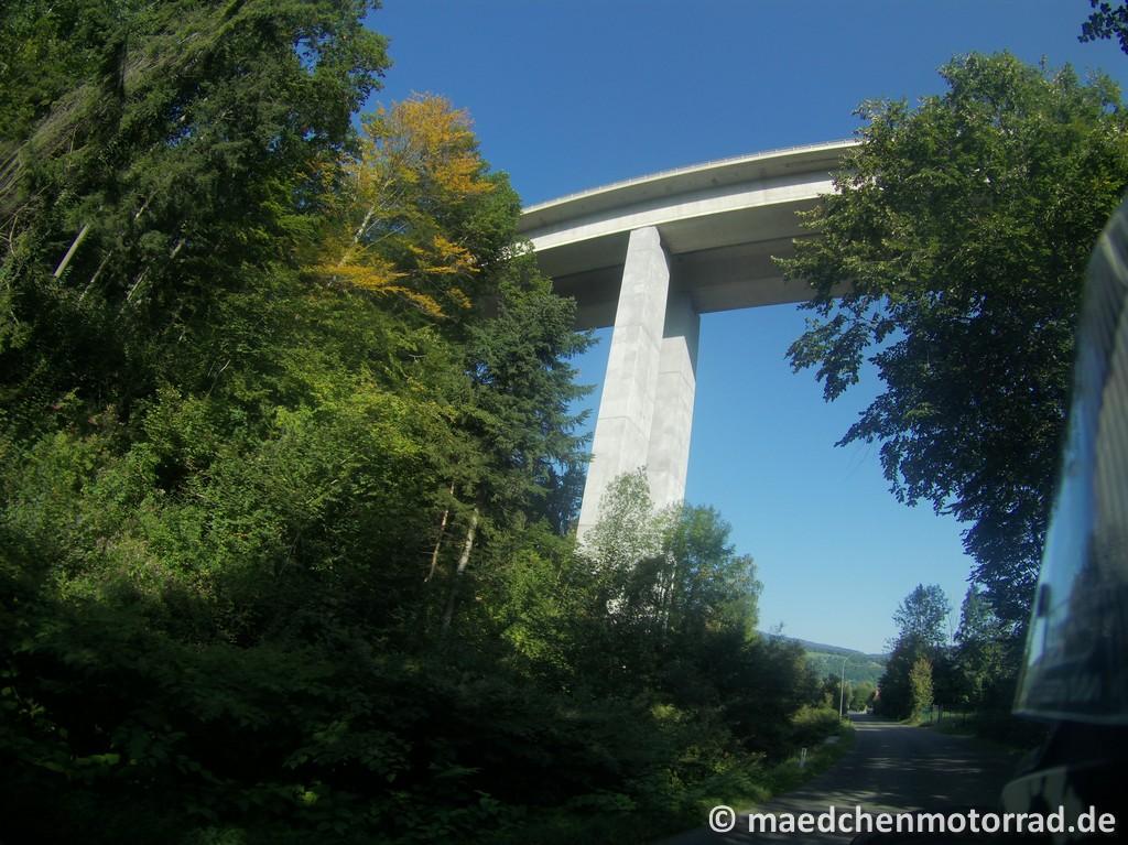 Autobahnbrücke vor Gloggnitz