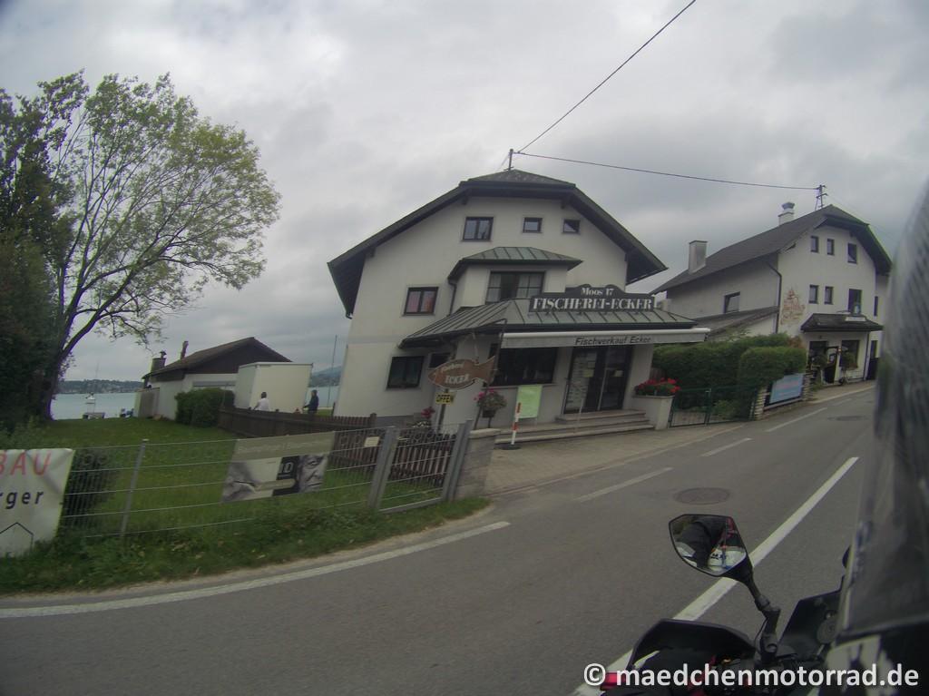 Tolles Fischrestaurant am Attersee