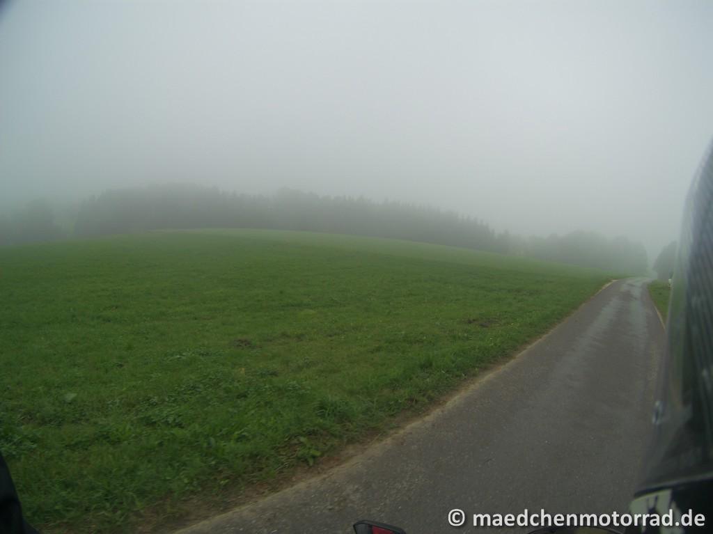 Weg in die Wolken