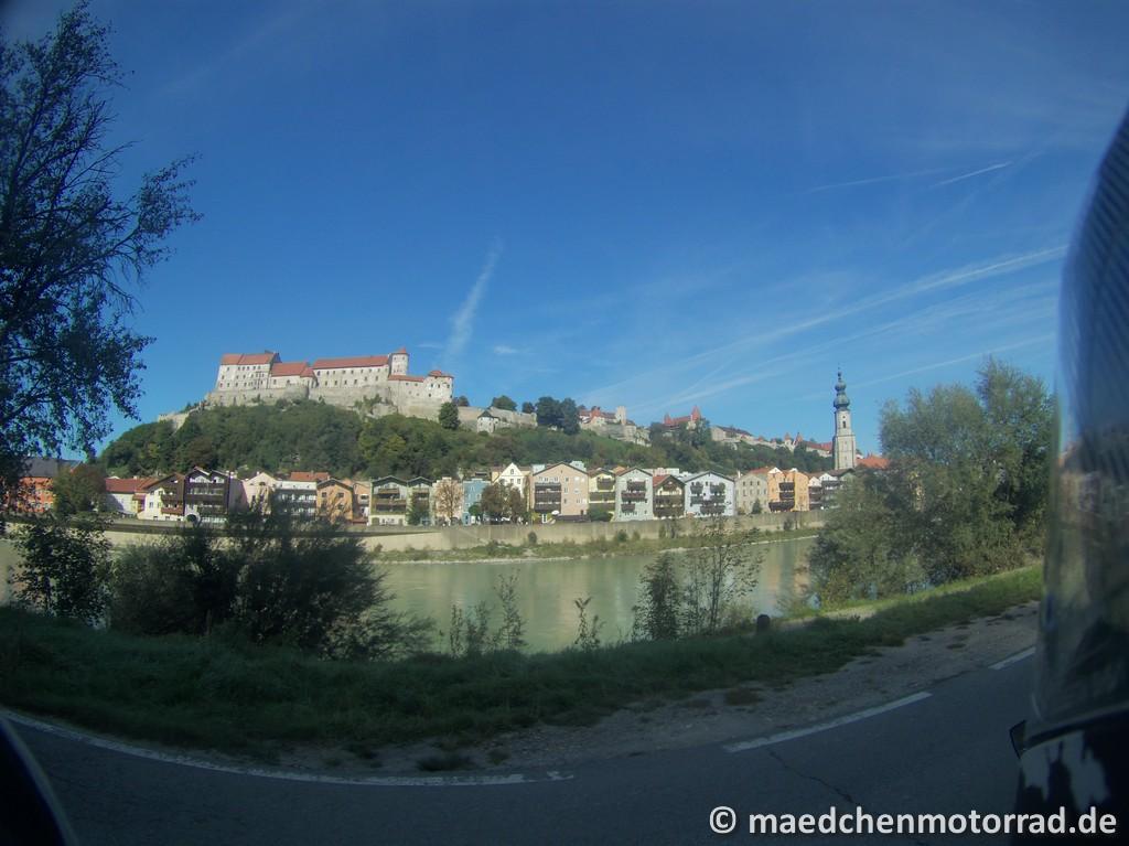 Burganlage von Burghausen