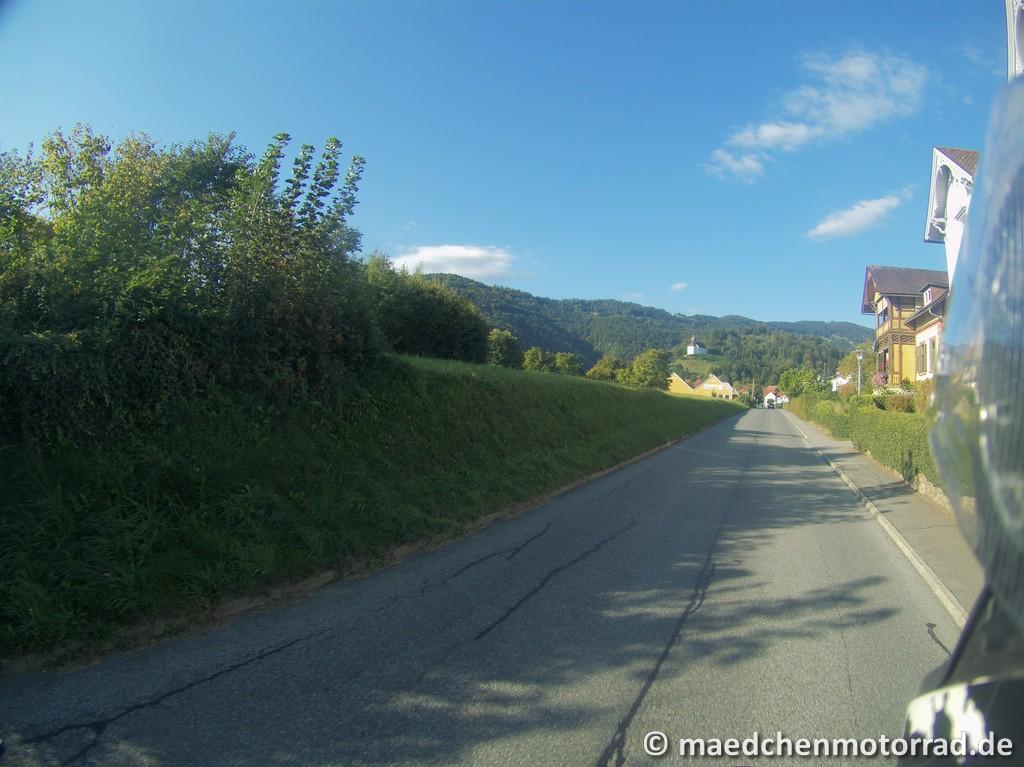 Frühmorgens raus aus Bad Schwanberg