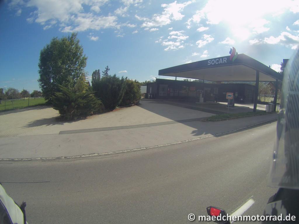 Tankstelle in Schwanberg