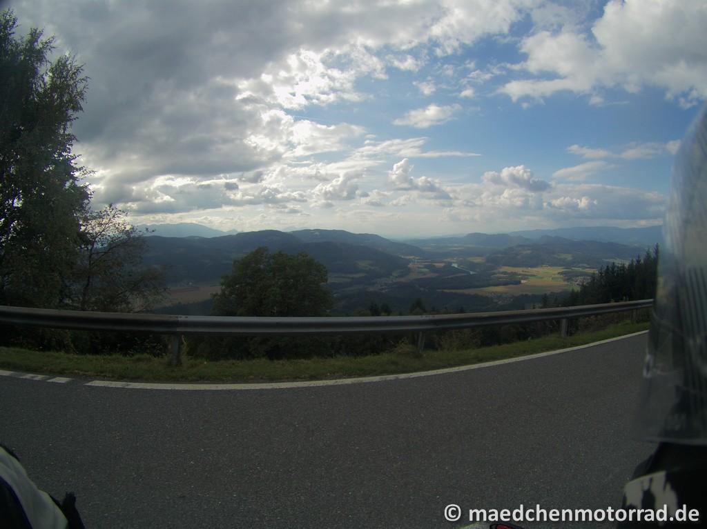 Blick Richtung Slowenien