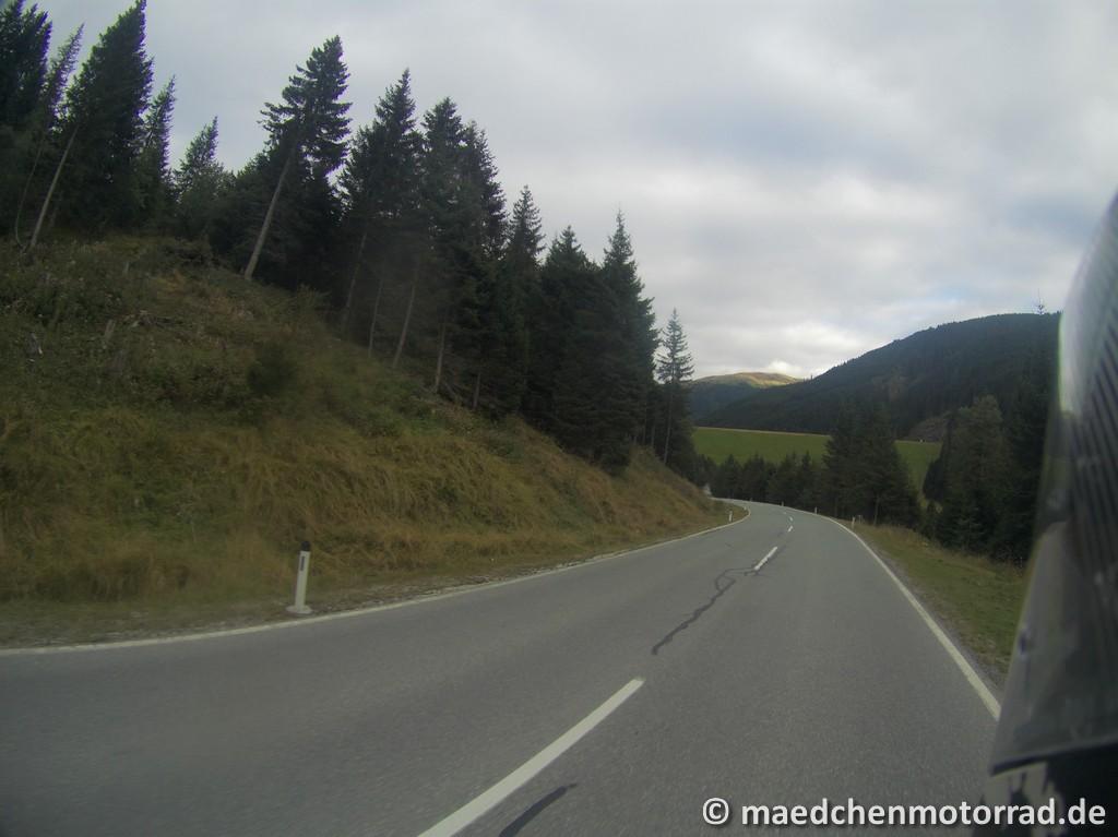 Und die letzten Kilometer nach Gerlos!