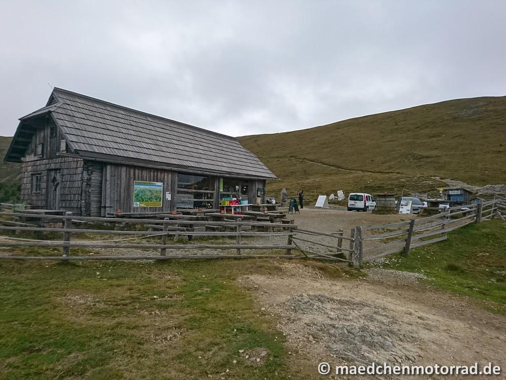 Die Hütte von der anderen Seite