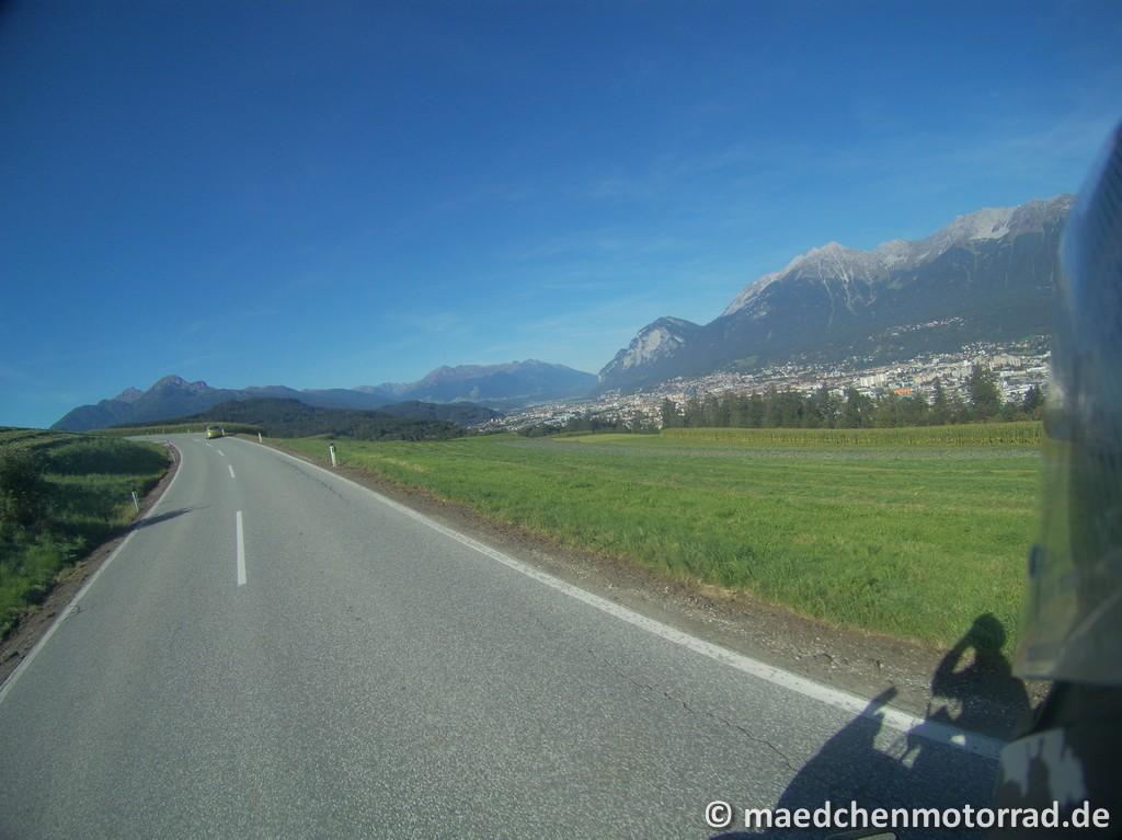 toller Blick auf Innsbruck