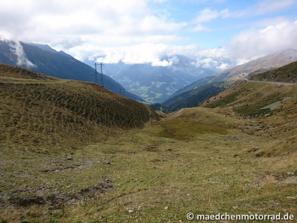 Endlich mal eine Aussicht in den Bergen